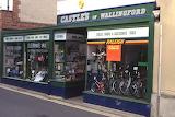 Castles Cycle shop Wallingford April 1996