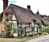 Wherwell cottage England UK Britain