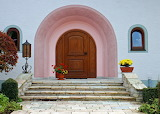 Front Entrance Arch