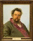 Портрет композитора М.П. Мусоргського