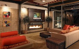 Amazing Interior Cool Fireplace