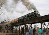 Union Pacific #3985 At East Saint Louis, IL 2004
