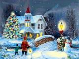 Christmas Grandma's House