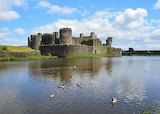 Caerphilly Castle - Wales