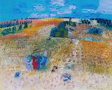 The Wheatfield by Raoul Dufy 1929