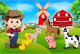Boer met vee