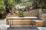Stone Table Seating