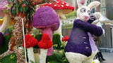 Flowers rabbit mushrooms lawn toon colorfully 30120 602x339
