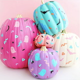 Pretty Pastel Pumpkins