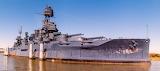 USS Texas battleship at Houston