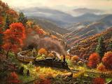^ Great Smokey Mountain Railway ~ Mark Keathley