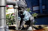 Amöneburg Fountain Girl