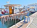 Paros island,Port of Naoussa
