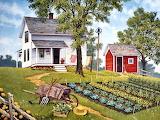 Kitchen Garden by John Sloane