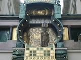 Wien, Ankeruhr detail, Austria