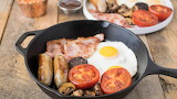 One skillet breakfast