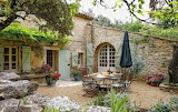 Provence Courtyard France