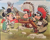Postcard mickeymouse