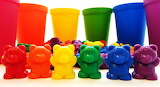 Color sorting toys for kids