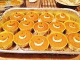 #Cute Pumpkin Cupcakes