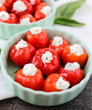Goat Cheese Pepper Poppers