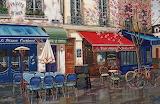 Street Cafe Paris~ KondakovaLyudmila