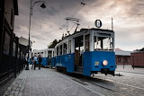 Vintage Tram Kracow Poland