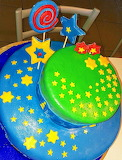 Starry cake @ Pasticciando con Irene
