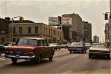 TORONTO, CANADA, 1970'S, BLOOR WEST AT BAY