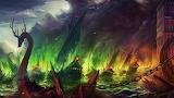 Game of Thrones war ship sinking ships fire Blackwater King's La