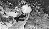 Train leaving Woy Woy Tunnel circa 1906-1910 Courte