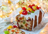 Cake with candied fruits