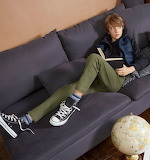 boy in the Converse