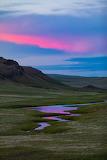 Sunset Rocky Mountain Front near Augusta Montana