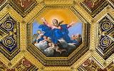 Virgin Mary, assumption painting