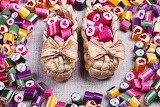 it's for me!-candies in shoes