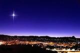 Christmas Star over Prescott, AZ