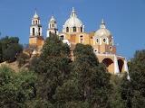 Iglesia de Nuestra Senora de los Remedios, Cholula, Mexico