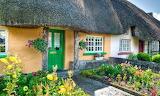 ^ Cottage in Ireland