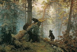 Ivan Shishkin - Morning in a Pine Forest