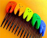 Teeth of a comb