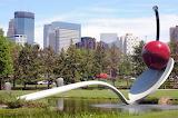 Pedestrian Bridge Minneapolis Sculpture Garden