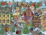 ^ Winter Village Square ~ Joseph Burgess