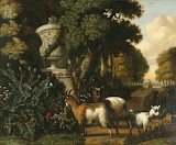 Landscape with Goats by Abraham Begeyn