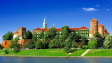 Wawel from Vistula River