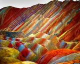 Rainbow-mountains