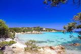 Sardinia beach scene