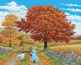 Autumn Walk~ John Sloane