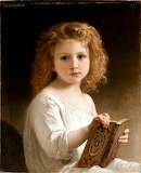 The Storybook by William-Adolphe Bouguereau