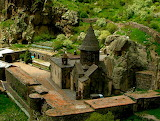 Geghard Monastery. Armenia